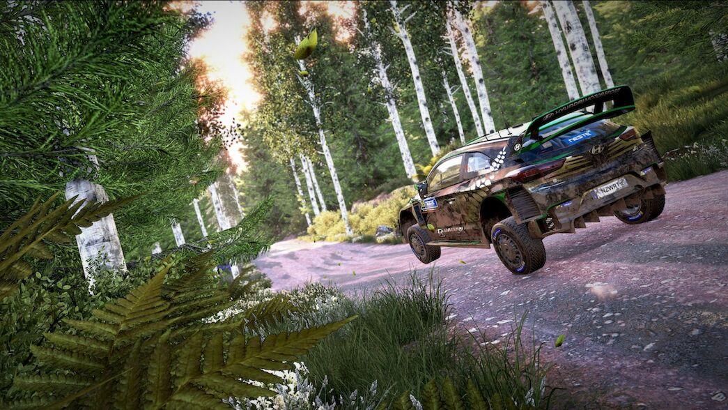 Nuevos y emocionantes tramos de Finlandia en la actualización del WRC 9