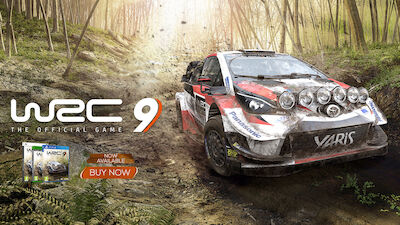OUT NOW! WRC 9 The Official Game