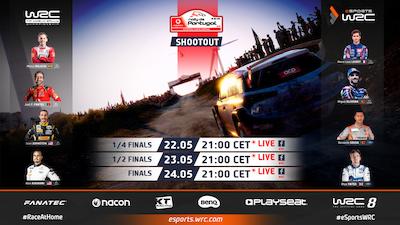 El WRC se enfrenta a Moto GP en la batalla virtual del rallye portugués