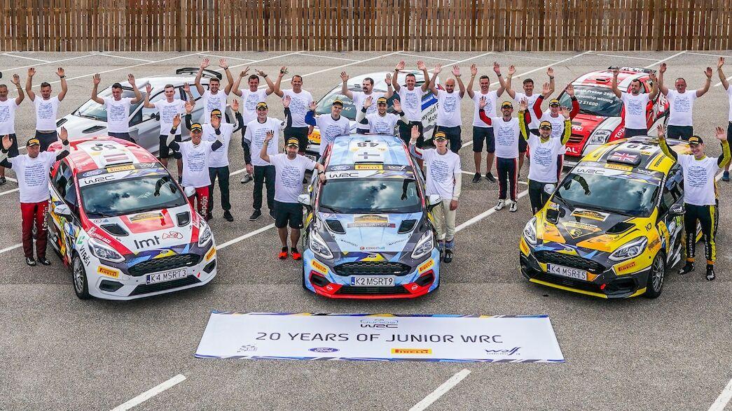 Le FIA Junior WRC fête ses vingt ans en Espagne