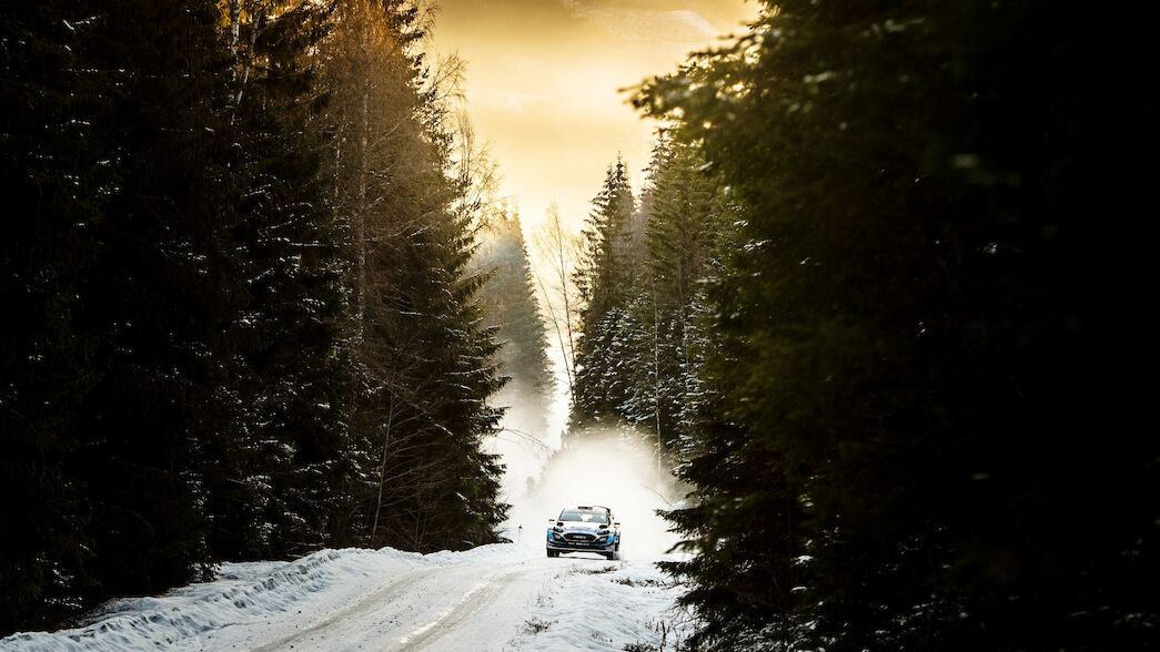 Rally Sweden moves north to Umea