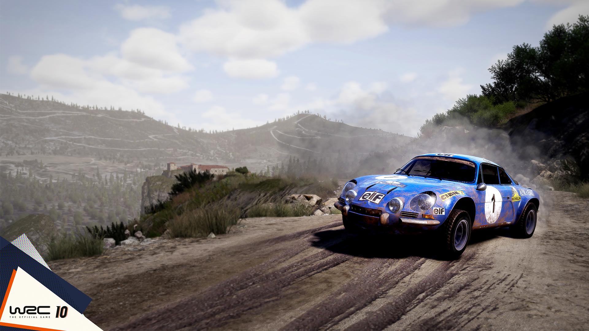 WRC 10 video game celebrates 50 years of WRC