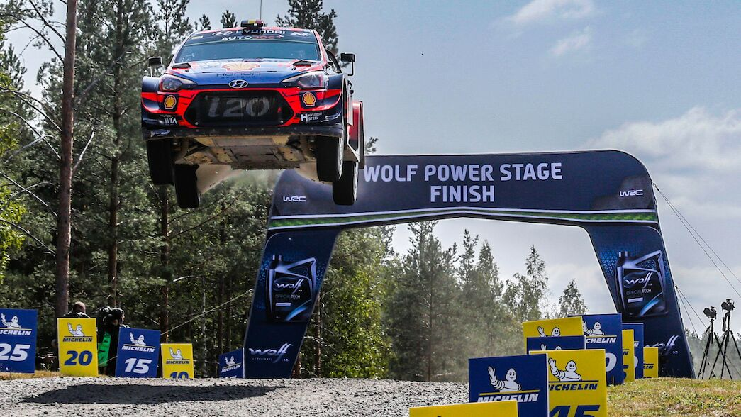 Autumn date change for Rally Finland
