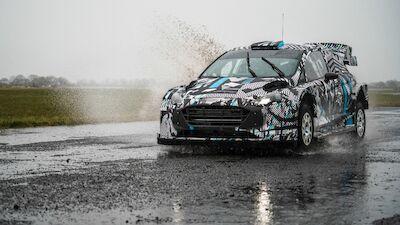 Primeras fotos: Test de M-Sport Ford 2022