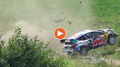 WATCH: Big crash ends Fourmaux's Belgian weekend