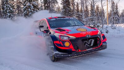 Solberg snow test kicks off Swede's Arctic build-up