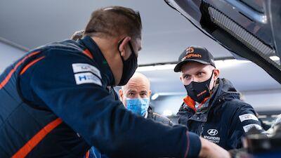 Tänak lays down Arctic target for Hyundai