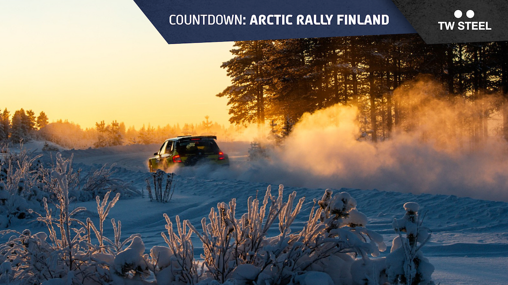 Arctic countdown: rally route