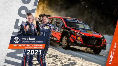 Tänak wins in the Arctic, Rovanperä grabs WRC lead