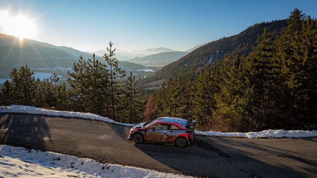 Las montañas francesas se hacen eco de los test de Montecarlo