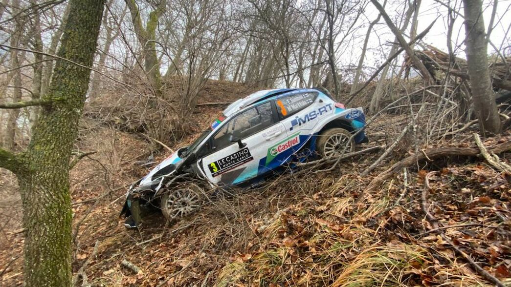 WATCH: Big roll for Suninen on SS1