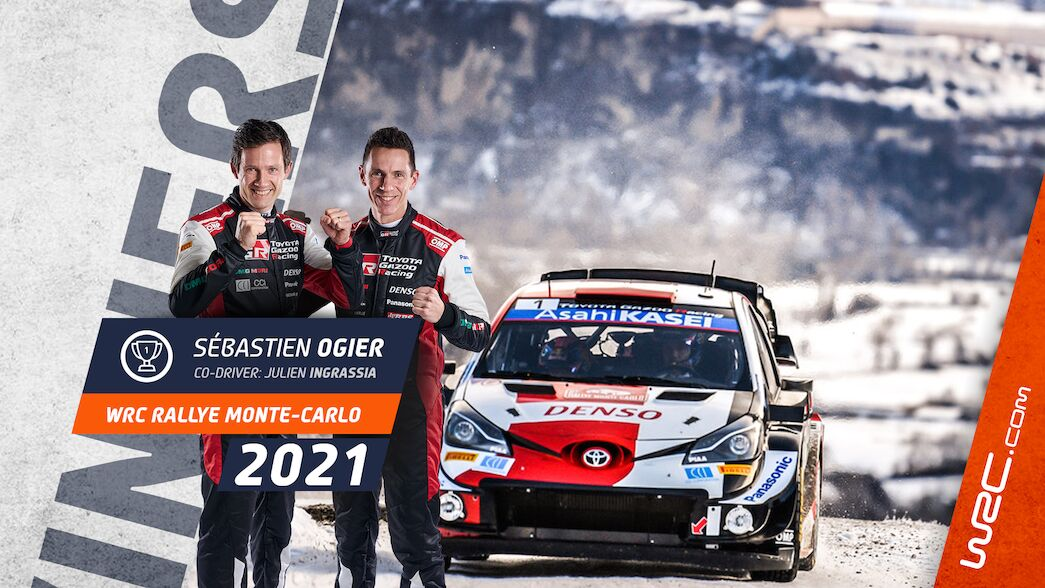 Ogier claims record eighth Monte-Carlo victory