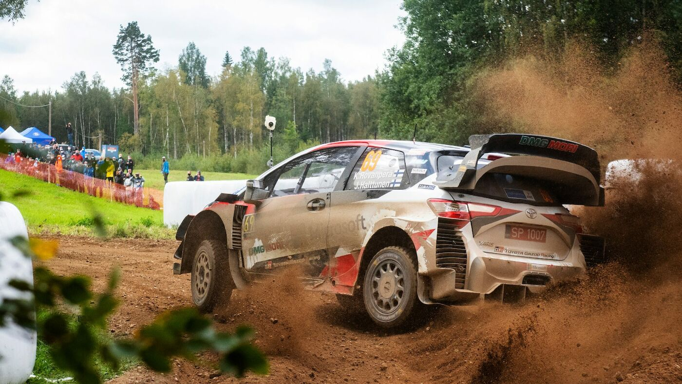 Kalle Rovanpera WRC Rally Estonia 2020