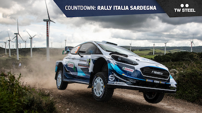 Italy countdown: rally route