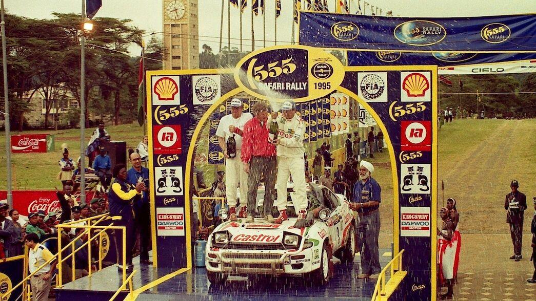 Q&A: Yoshio Fujimoto, 1995 Safari Rally winner