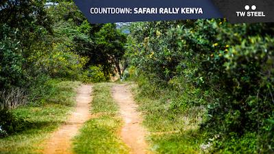 Kenya countdown – rally route