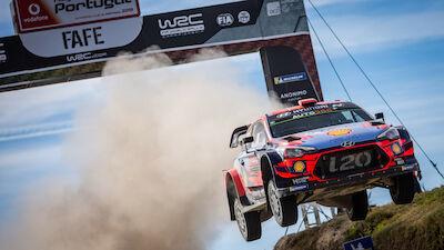 La liste des engagés du Vodafone Rally de Portugal