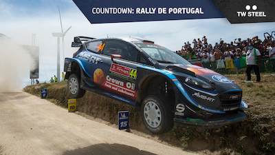 Portugal countdown: rally route