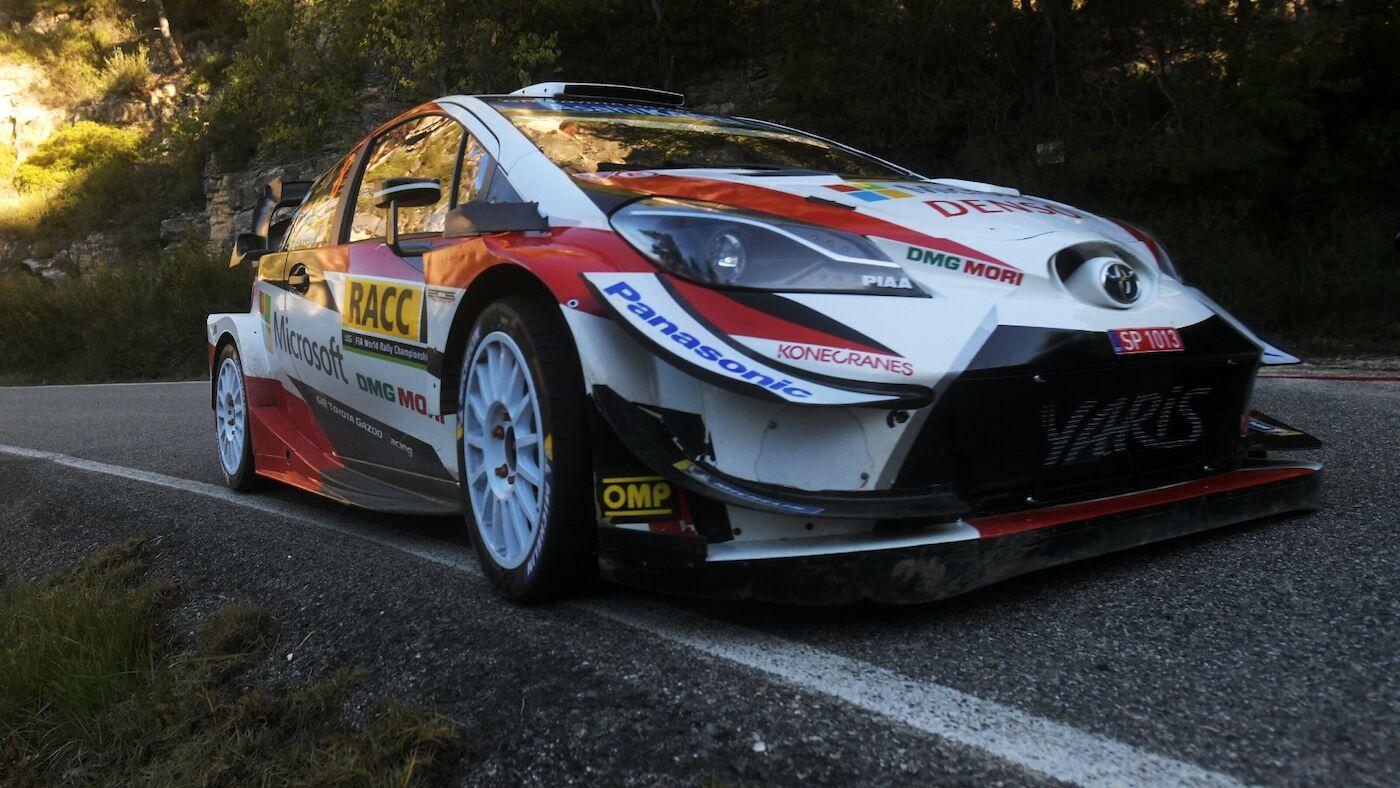 Ott Tanak WRC Rally Spain 2019