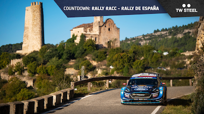 Spain countdown – rally route