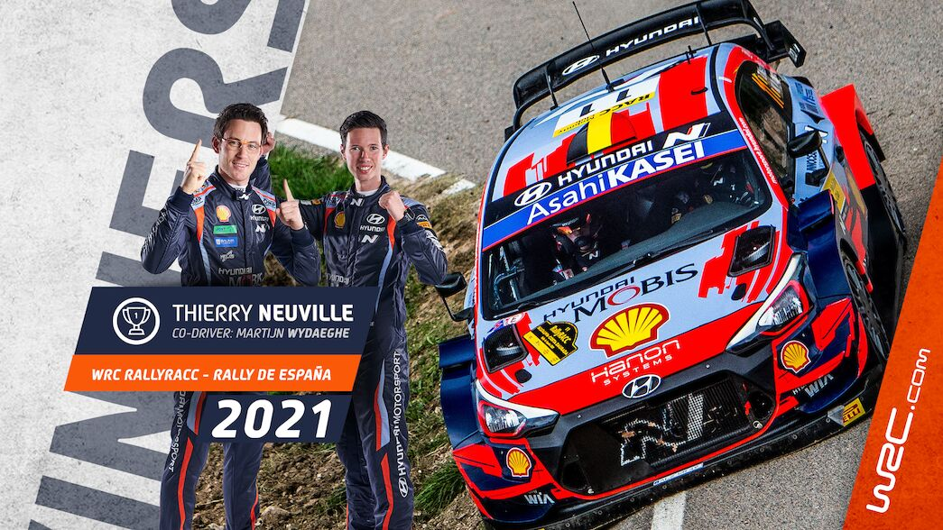 Neuville wins in Spain as title fights go to final round
