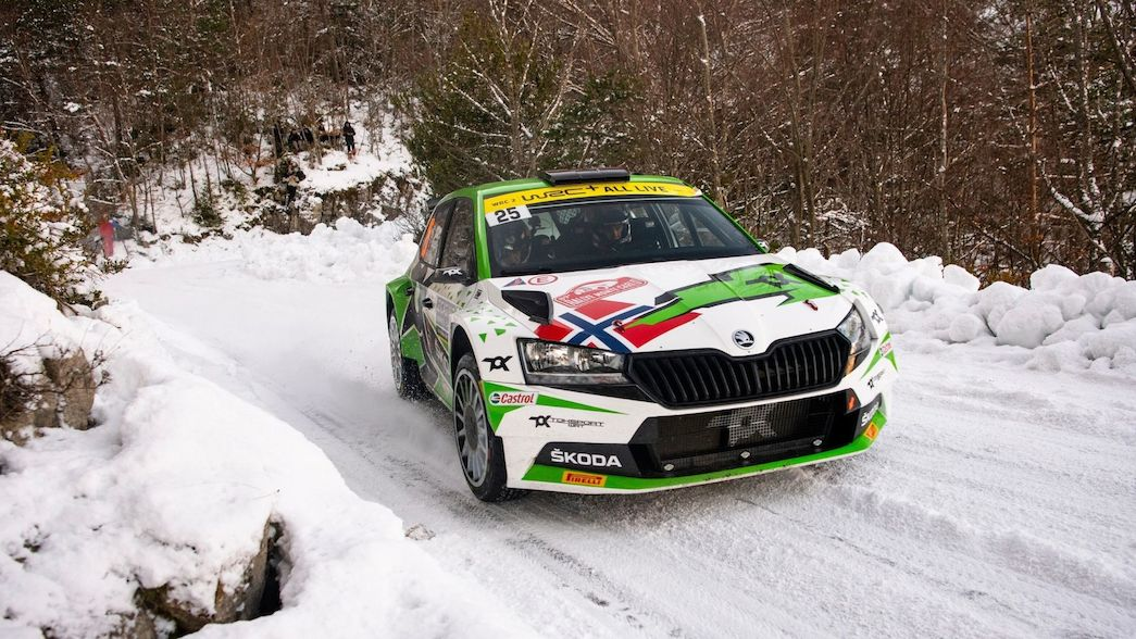 Top talents descend on Arctic Circle for WRC2 encounter