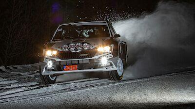 Ekström makes WRC comeback in the Arctic