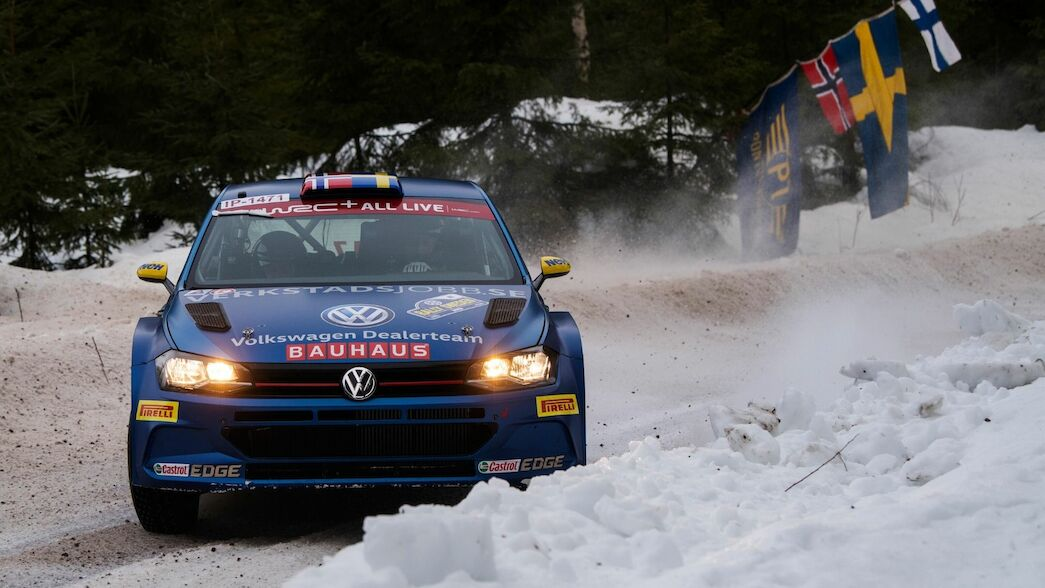 Nordic heroes dominate WRC3 entry in Rovaniemi