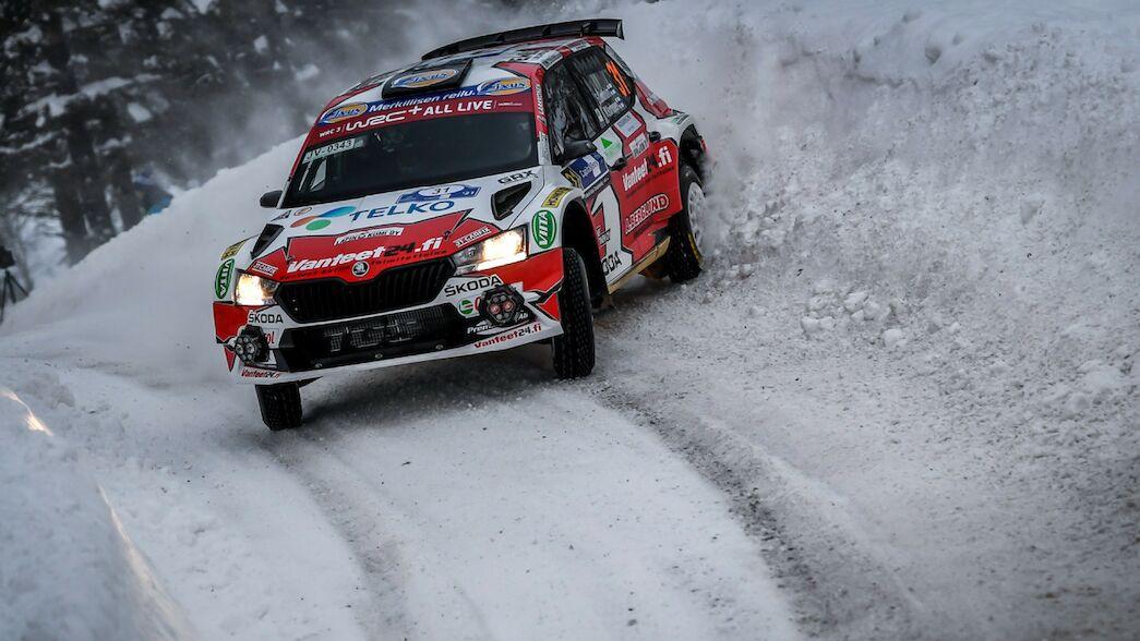 WRC3 - Emil Lindholm prend les devants