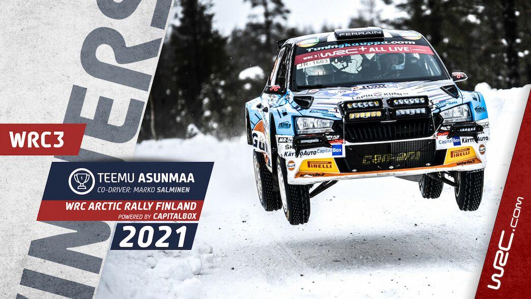 WRC3: Asunmaa logra su primera victoria