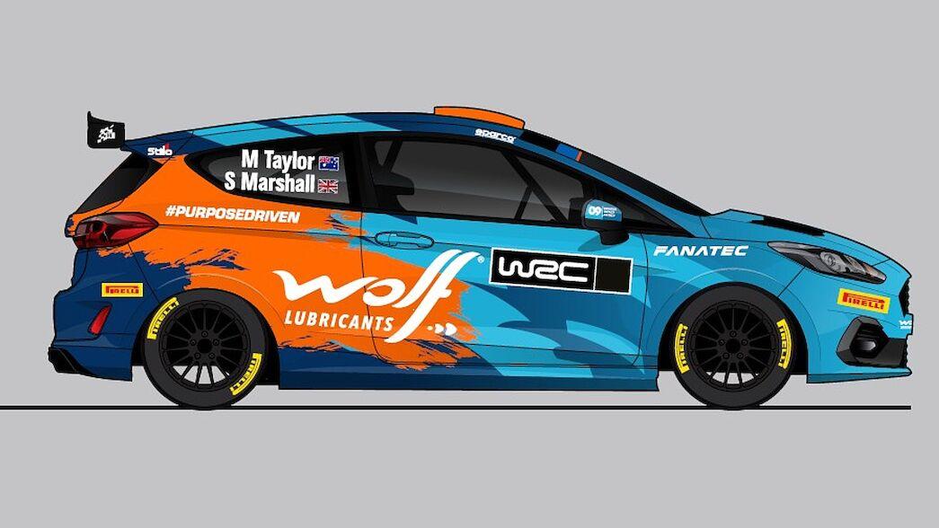 Taylor revela su calendario del WRC con el nuevo Fiesta Rally3