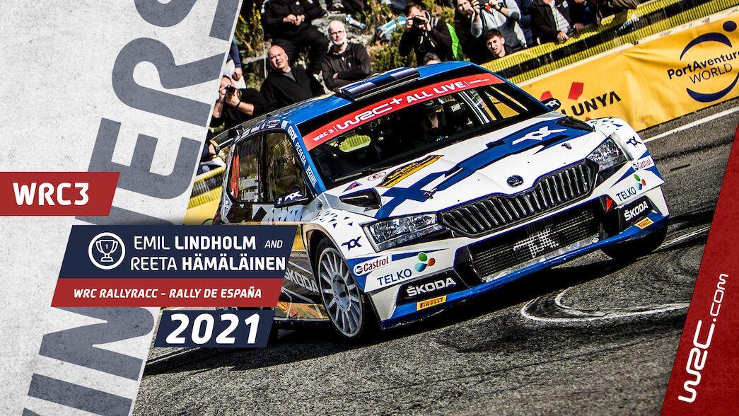 WRC3: Lindholm secures Spain win