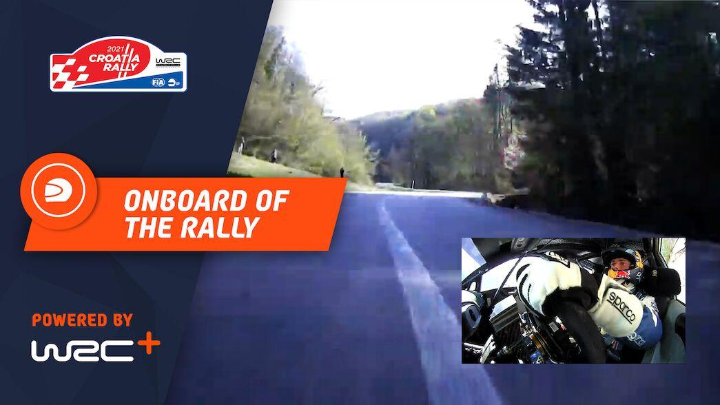 La caméra embarquée WRC+ du rallye : Rallye de Croatie 2021