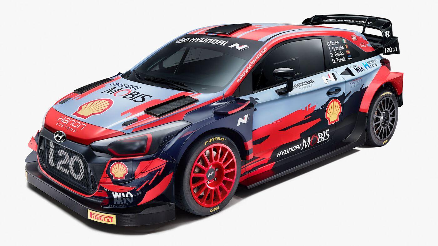 World Rally Cars 2021 - Hyundai i20 WRC