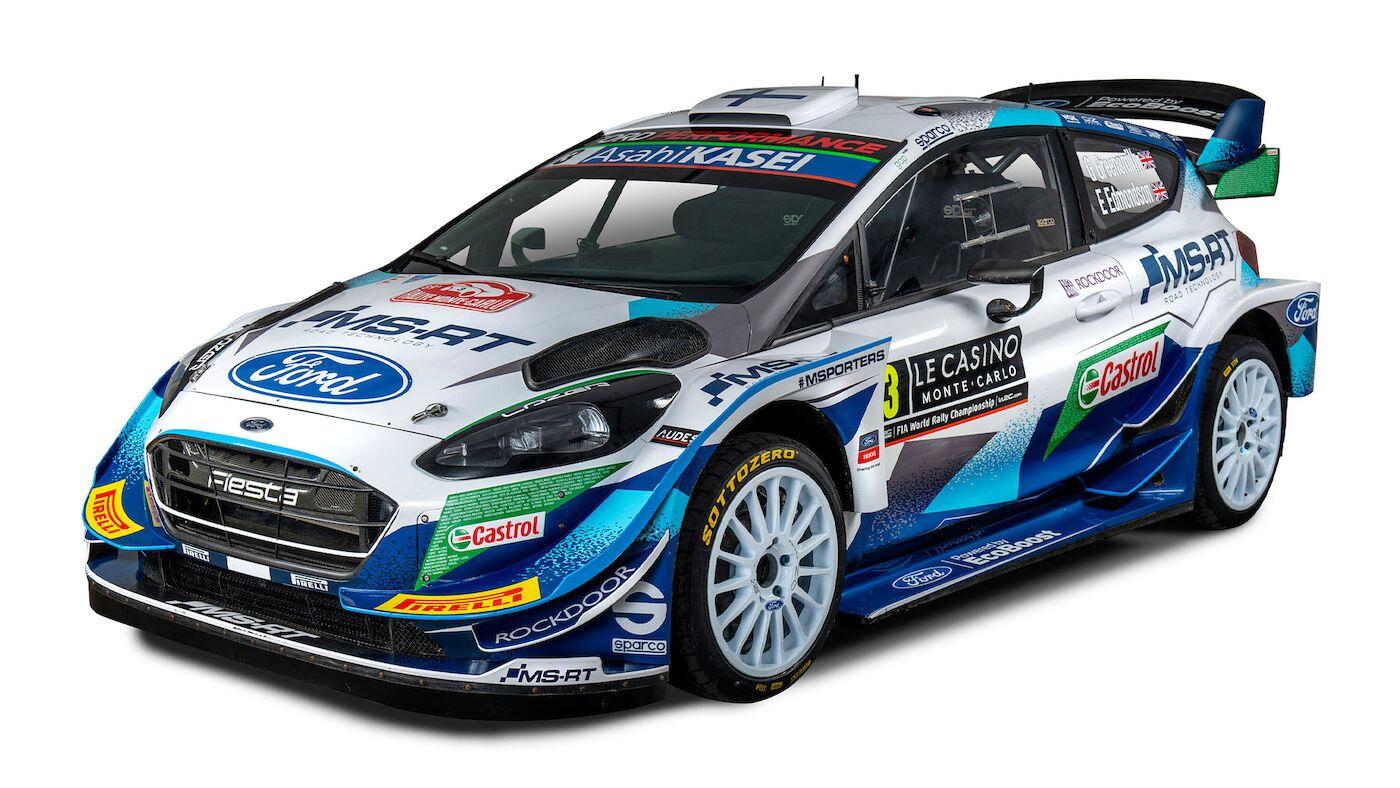 World Rally Cars 2021 - Ford Fiesta WRC