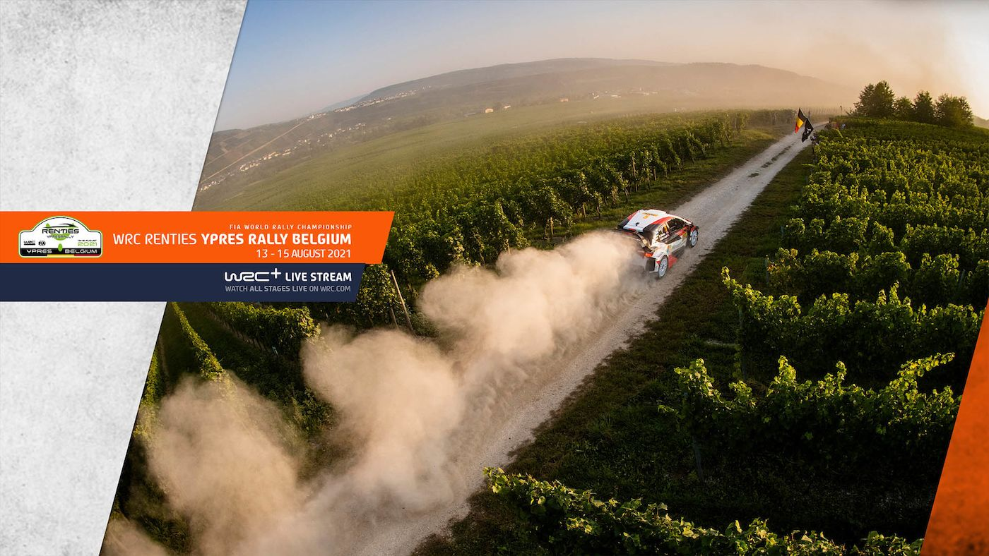 WRC Renties Ypres Rally Belgium