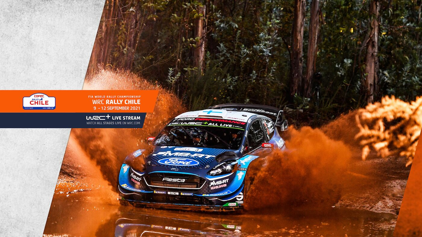WRC COPEC Rally Chile