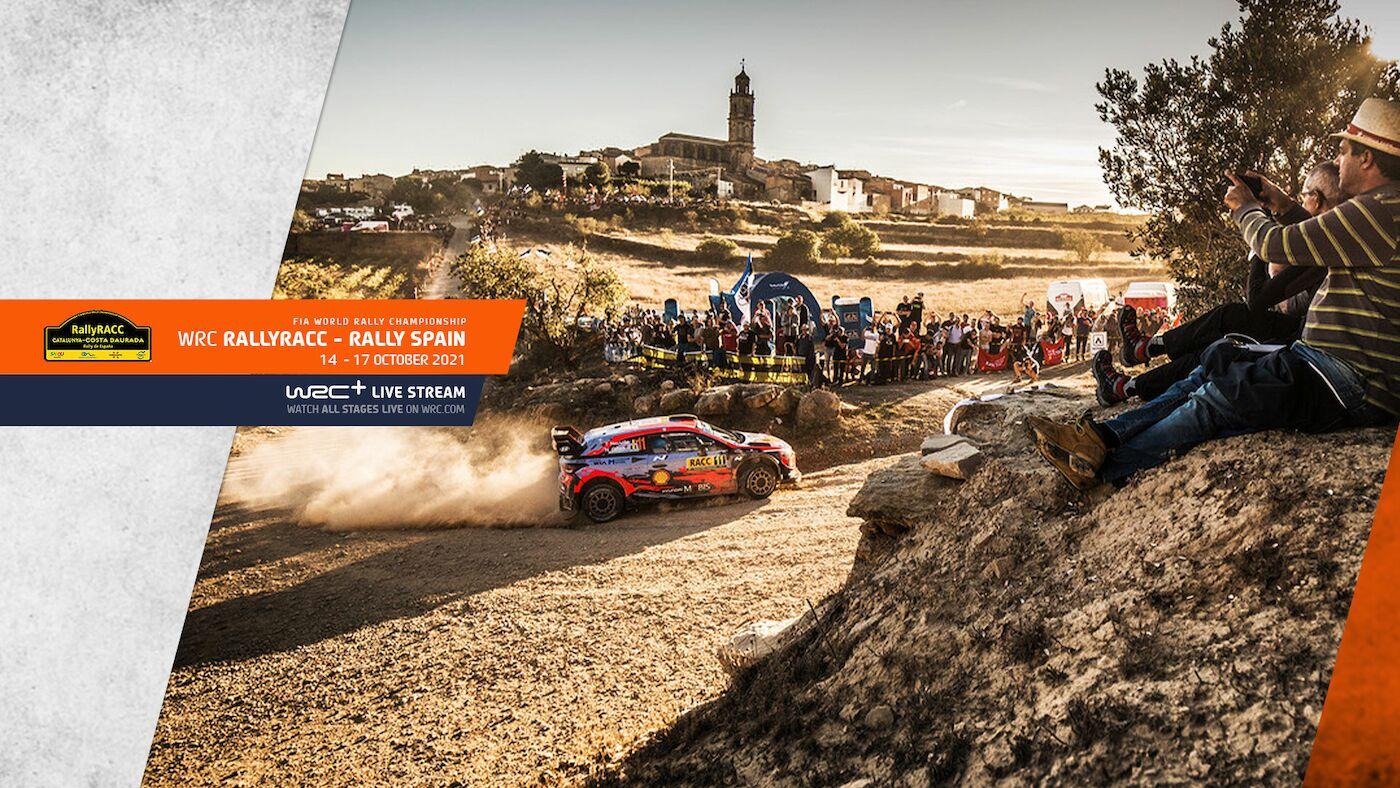 WRC Rally RACCCatalunya -Rally de España