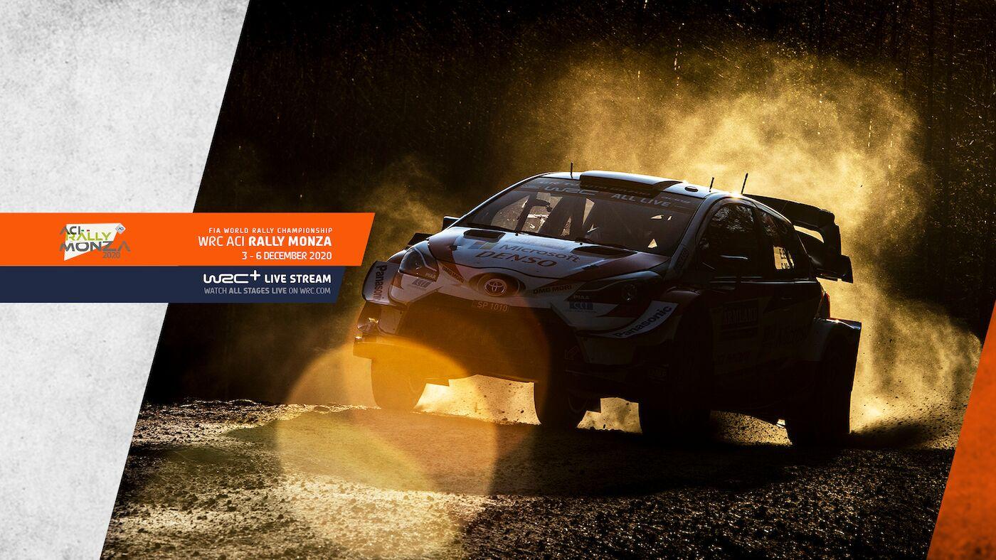 WRC ACI Rally Monza
