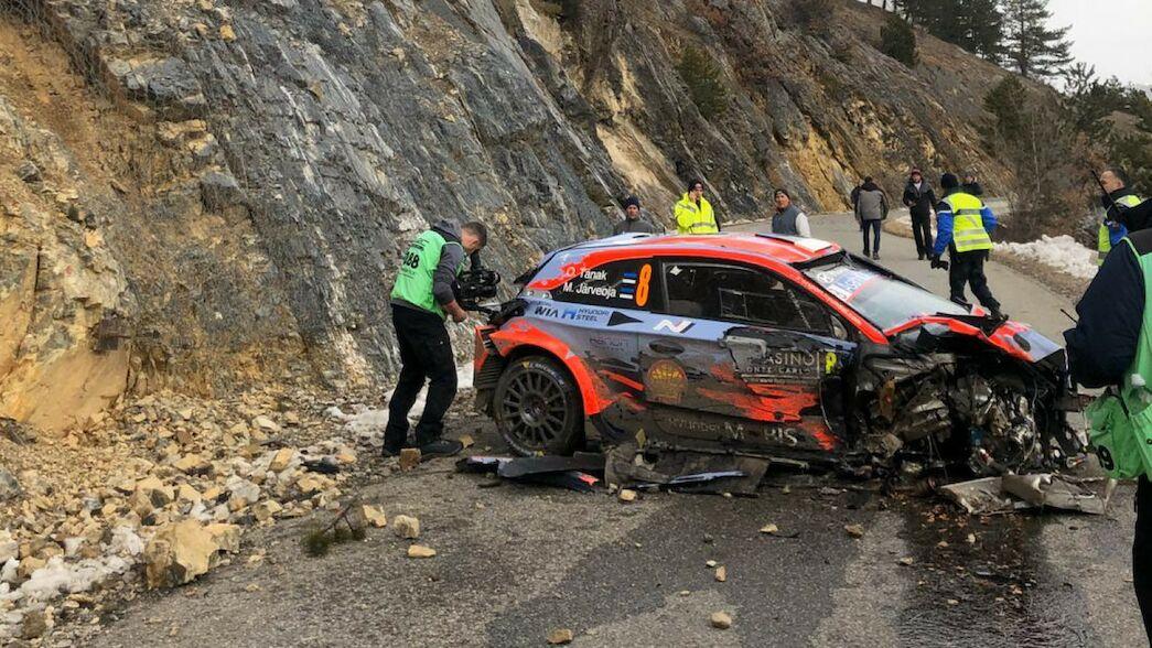 EXCLUSIVA: Tänak habla del accidente del viernes