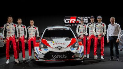 Toyota Gazoo Racing World Rally Team