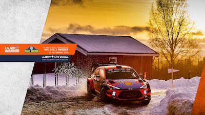WRC Rally Sweden