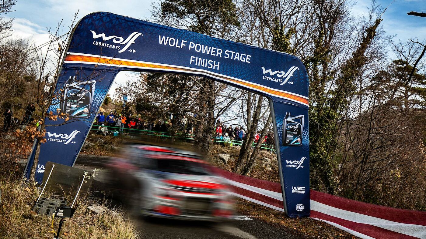 Wolf Power Stage Standings 2021